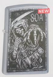 Zippo Sons of Anarchy Street Chrome Color Image 49004 sytytin
