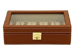 Kellolaatikko Brown Cordoba 26215-3 | 10 kellolle