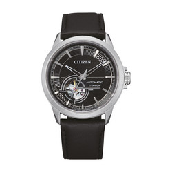 Citizen NH9120-11E Titanium Automatic rannekello