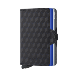Secrid Twinwallet Optical Titanium Blue lompakko
