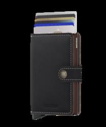 Secrid Miniwallet Saffiano Brown lompakko