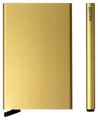 Secrid Cardprotector Gold korttilompakko