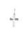Hopeinen risti ketjulla 5056 | toimituskulut 0€