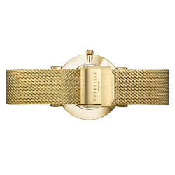 Rosefield Tribeca TWG-T51 White-Gold rannekello | toimituskulut 0€