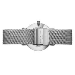 Rosefield Tribeca TWS-T52 White-Silver rannekello | toimituskulut 0€ ja hopeakorvakorut veloituksetta
