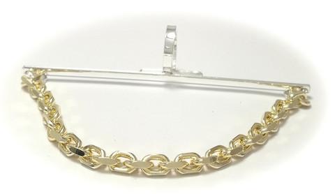 Solmiopidin ankkuriketjulla kullattua hopeaa 31001
