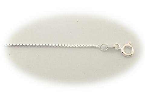 Venetsia-riipusketju 1,1mm vahva, hopea 14002