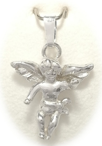 Enkeli-riipus, hopeaa 11028