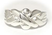 Pirunnyrkki-sormus 4-osainen, hopeaa 13003