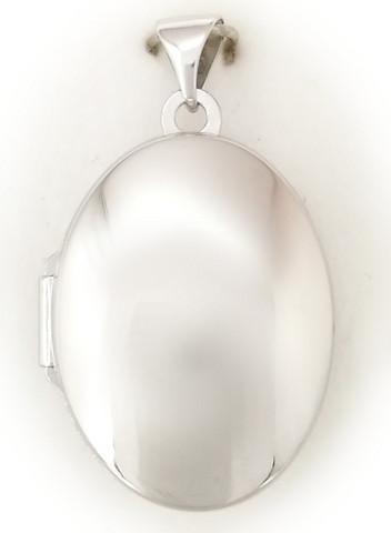 Medaljonki, hopeaa 11030