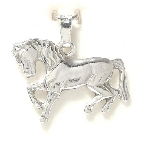 Hevonen-riipus, hopeaa 11052