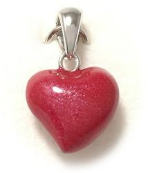 Sydän-riipus, hopeaa 11715