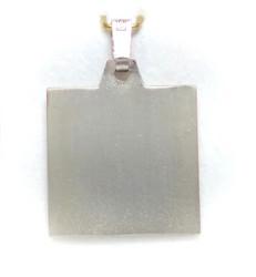 Laatta-riipus, hopeaa 11562
