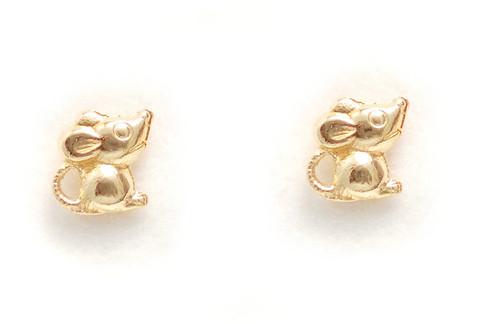 Hiiri-tappikorvakorut, kultaa 22162