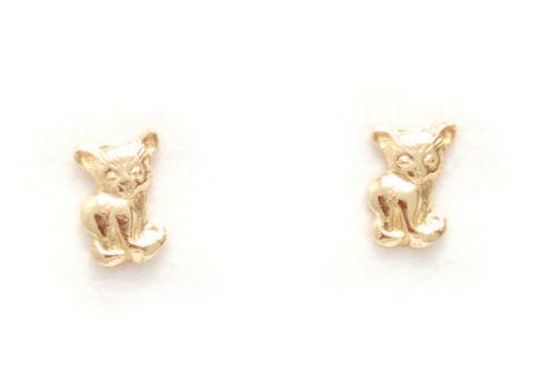 Kissa-tappikorvakorut, kultaa 22161