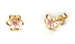 Tappikorvakoru kukka pinkki, kultaa 22195