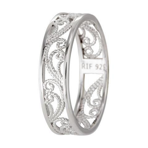 Filigraani-sormus, hopeaa 13020