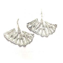 Kuura-korvakorut, hopeaa