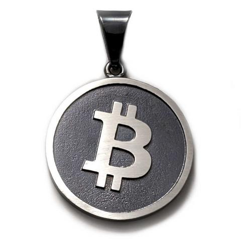 Bitcoin-riipus, oksidoitua hopeaa