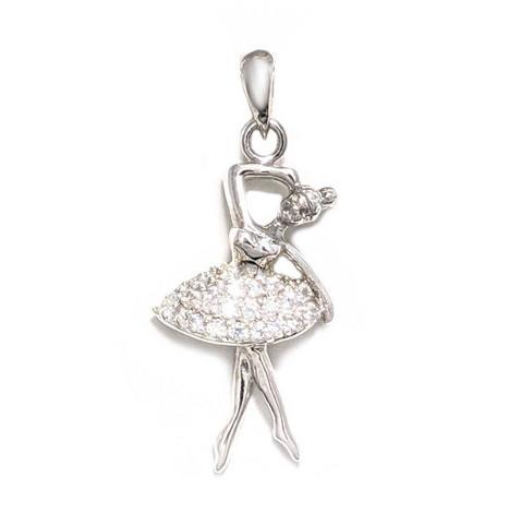 Ballerina-riipus, hopeaa