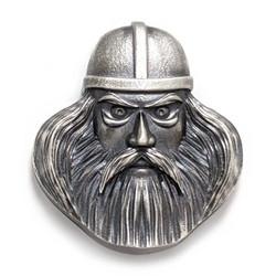 Väinämöinen-riipus, oksidoitua hopeaa