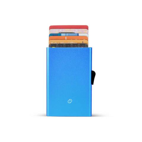 C-Secure korttikotelo sininen, alumiinia