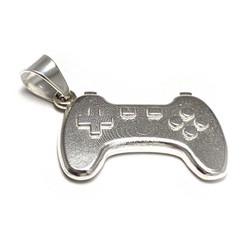 Gamepad-riipus, hopeaa