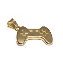 Gamepad-riipus, kullattua hopeaa