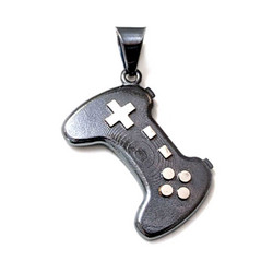 Gamepad-riipus, oksidoitua hopeaa