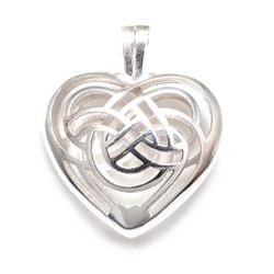 Sydänkätkö-riipus, hopeaa