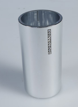 Diamonde Silver brush holder