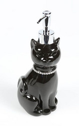 Cat Black Dispenser