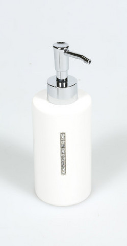 Diamonde White Soapdispenser