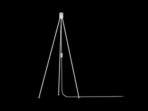 Tripod Floor Matt white