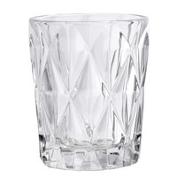 Diamond Drinking glass Clear