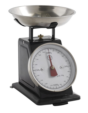 Kitchen Scale S black
