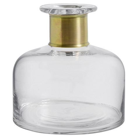 Ring Decoration bottle M Clear