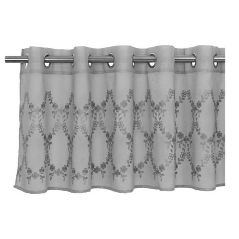 Summer pelmet curtain grey 55x250