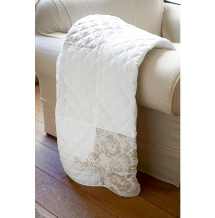 Coughton Court Patchwork Throw 180x130