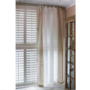 East Hampton Curtain 140x270 White/flax