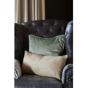 Villa Perosa Velvet Pillow Cover 30x60
