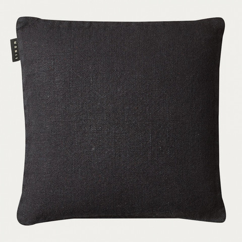 Raw Cushion cover 50x50 Black