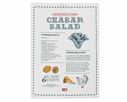 Ceasar Salad Kitchen Towel