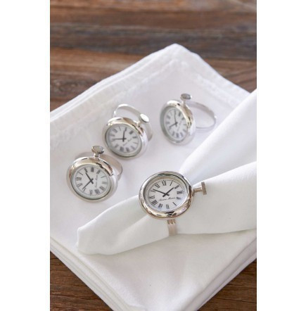RM Watch Napkin Ring 4kpl