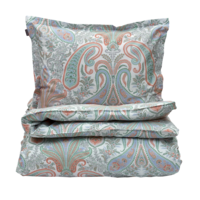 Key West Paisley Single duvet True red