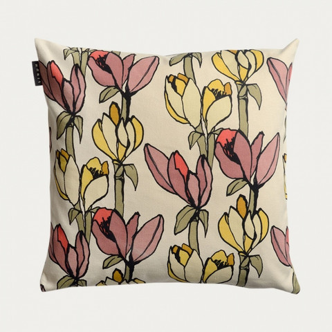 Cesena Cushion cover 50x50 Misty grey pink