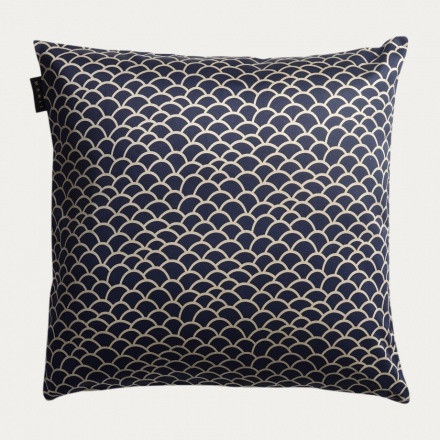 Ascoli Cushion cover 50x50 Ink blue