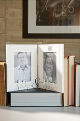 WOW Mr & Mrs Double Photoframe