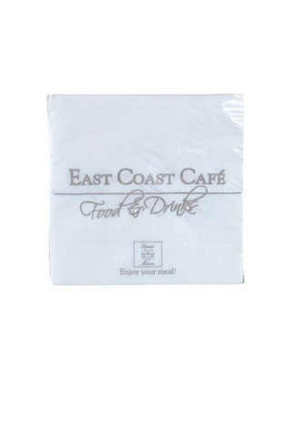 East Coast Cafe paper napkin