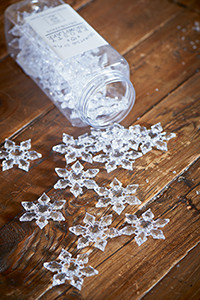Frosty Snowflake Decoration